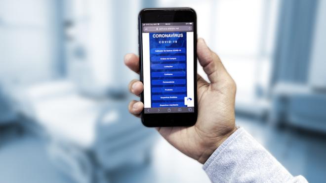 App para celular: Atende.Net