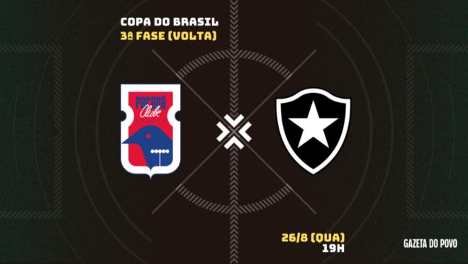 Paraná x Botafogo: tudo sobre o jogo!