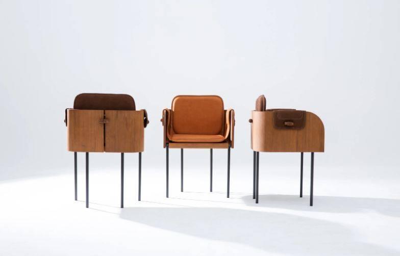 Cadeira Curva. Foto: Peu Campos