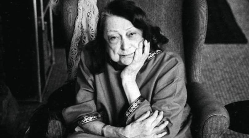 Lina Bo Bardi foi uma das maiores arquitetas do mundo. Foto: reprodução