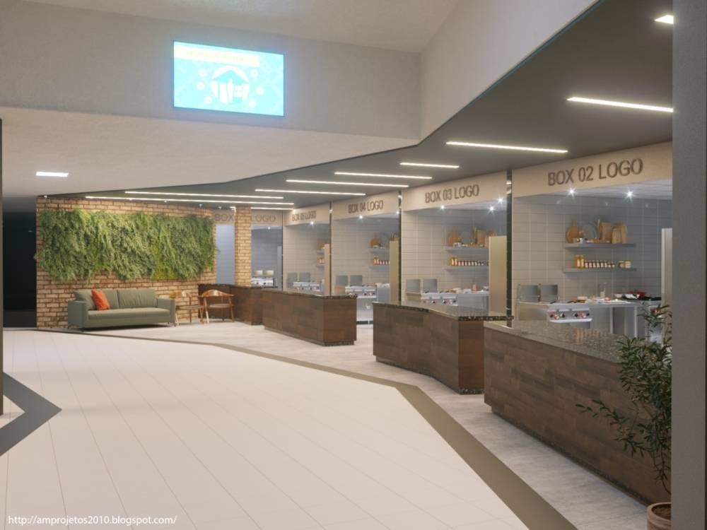 Área destinada às dark kitchens no Omar Square será inaugurada em outubro e tem possibilidade de expansão.