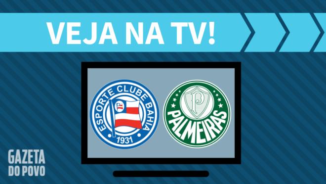 Bahia x Palmeiras AO VIVO: saiba como assistir ao jogo na TV