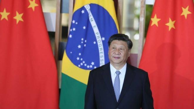 Presidente da China, Xi Jinping, em visita ao Brasil em 2019. País responde por mais de um terço das exportações brasileiras.