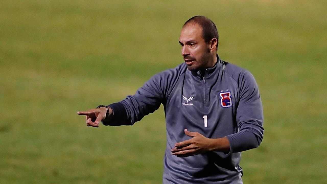 Allan Aal teve semana ruim no comando do Tricolor. Foto: Albari Rosa/Foto Digital/Gazeta do Povo