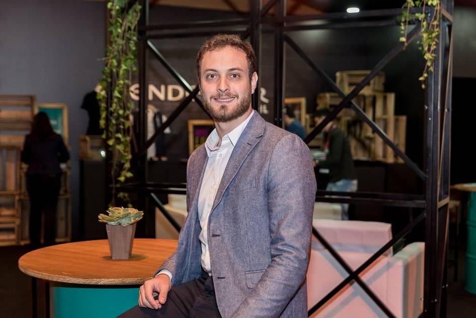 Marco Antonio Mazzonetto, de Curitiba, gerente do Scale-Up Endeavor, programa de aceleração de negócios escaláveis da Endeavor. Foto: Felipe Tazzo.