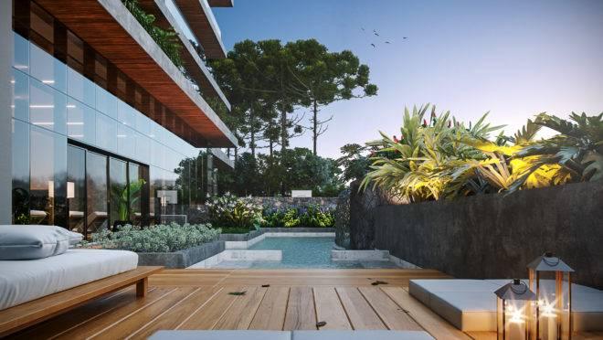 Lançamento da Construtora Laguna, o Pinah, localizado próximo à Praça da Espanha, em Curitiba, é o primeiro e único residencial no Brasil a buscar o selo WELL.