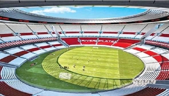 A nova cara da casa dos Millonarios. Reprodução/River Plate