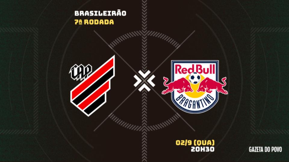 Novamente sem transmissão, Athletico recebe o Bragantino; tudo sobre o jogo