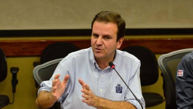 Eduardo Paes é candidato à prefeitura do Rio de Janeiro.