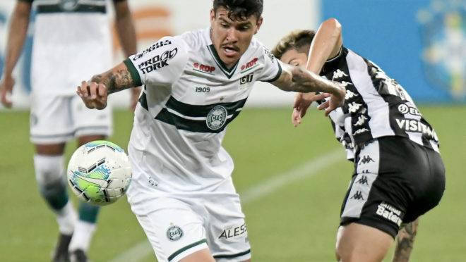 Coritiba empatou sem gols com o Botafogo