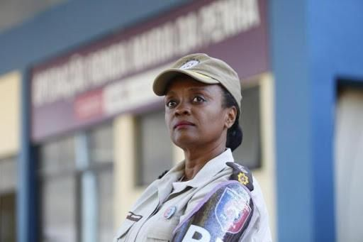 A major da PM Denice Santiago é a pré-candidata do PT em Salvador. Foto: Divulgação.