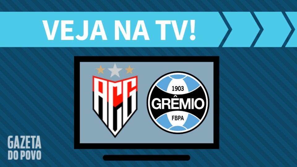 Atlético-GO x Grêmio AO VIVO: saiba como assistir ao jogo na TV