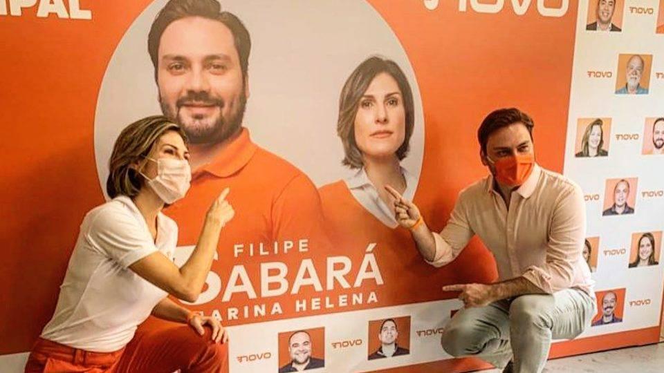 Vice de Filipe Sabará desiste de candidatura em São Paulo pelo Novo