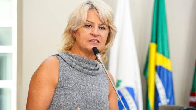 Vereadora Noemia Rocha (MDB) foi internada após o exame positivo para  Covid-19
