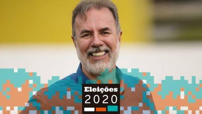 Eloy Casagrande, candidato a prefeito de Curitiba pela Rede.