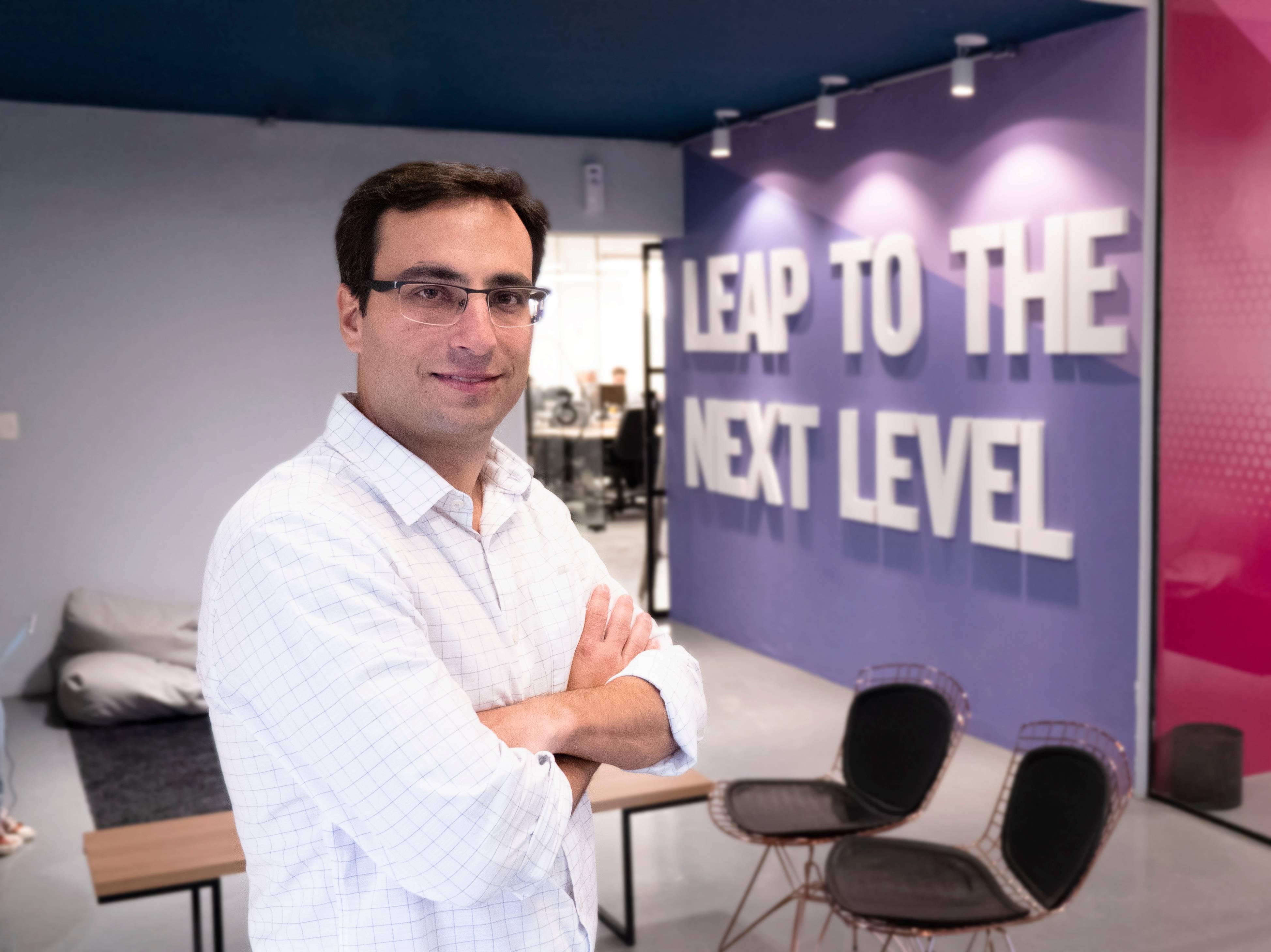 Gustavo Gierun, cofundador do Distrito, plataforma de inovação para startups, empresas e investidores. Foto: Divulgação.