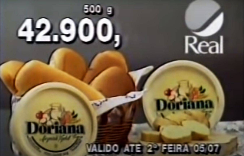 Preços na época da hiperinflação