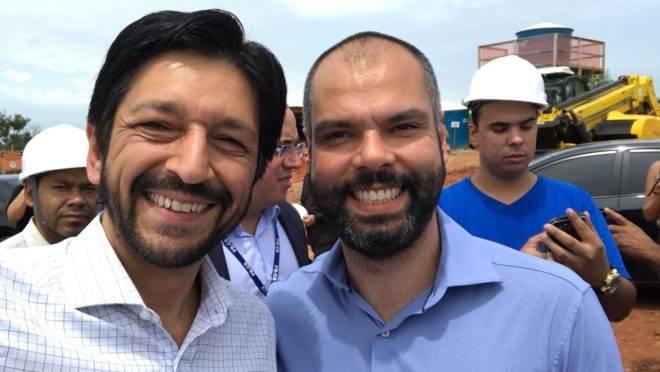 bruno covas e ricardo nunes, chapa para prefeito de SP
