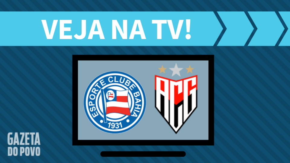 Bahia x Atlético-GO AO VIVO: saiba como assistir ao jogo na TV