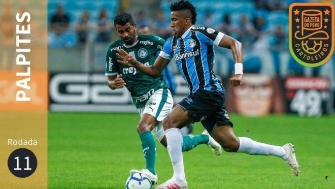 Veja os palpites para os jogos da 11ª rodada do Brasileirão 2020