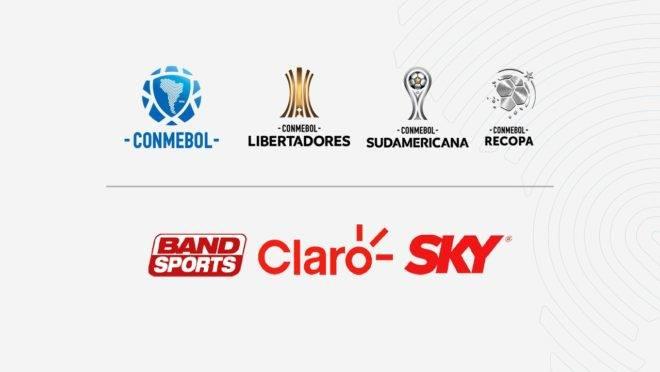 Libertadores Conmebol TV Sky Net/Claro