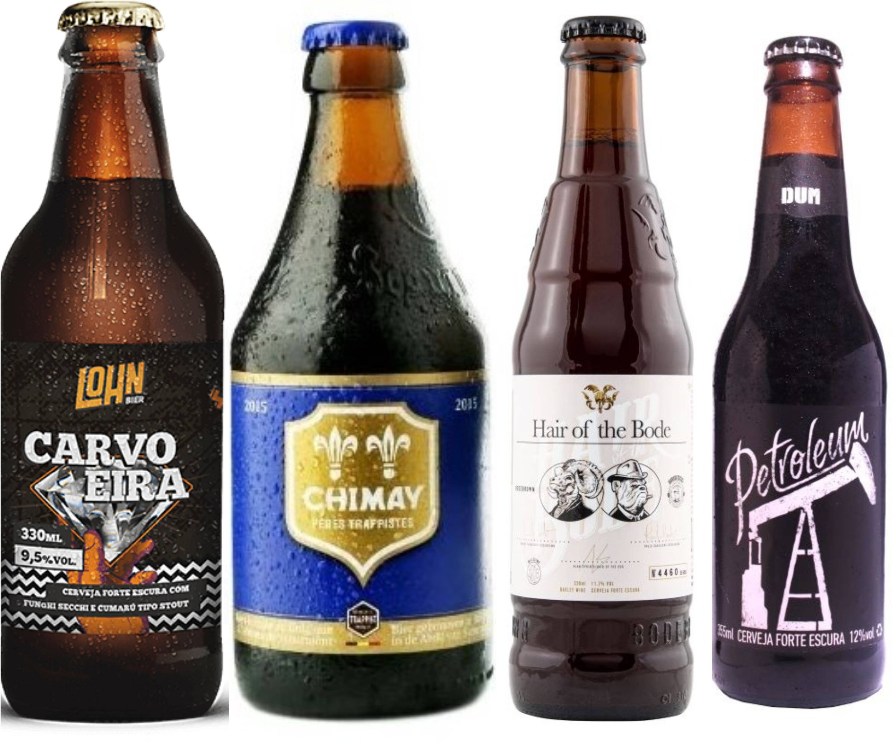 Lohn Carvoeira, Chimay Blue,  Bodebrown Hair Of The Bode e  DUM Petroleum.