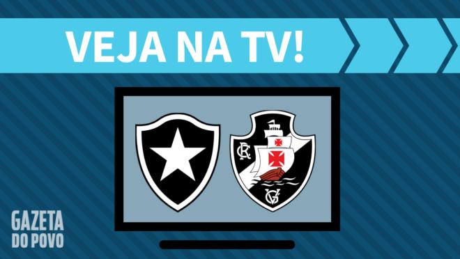 Botafogo x Vasco AO VIVO: saiba como assistir ao jogo na TV.