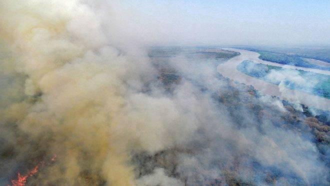 Recursos para combate a incêndios em MS