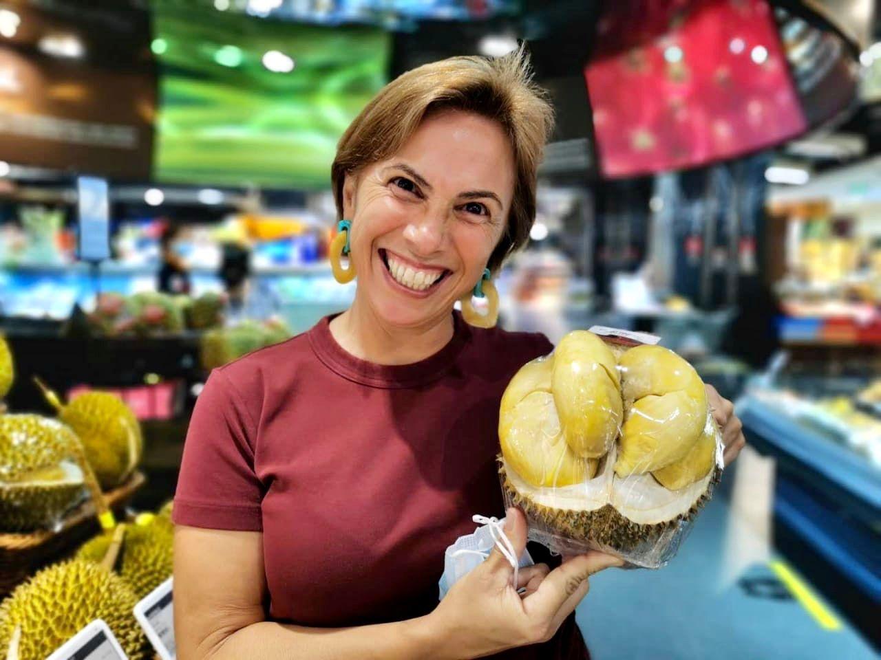 Durian, rainha asiática pelo sabor, pela irreverência, nunca pelo cheirinho forte que exala!