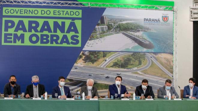 Governador e secretários anunciam pacote de obras