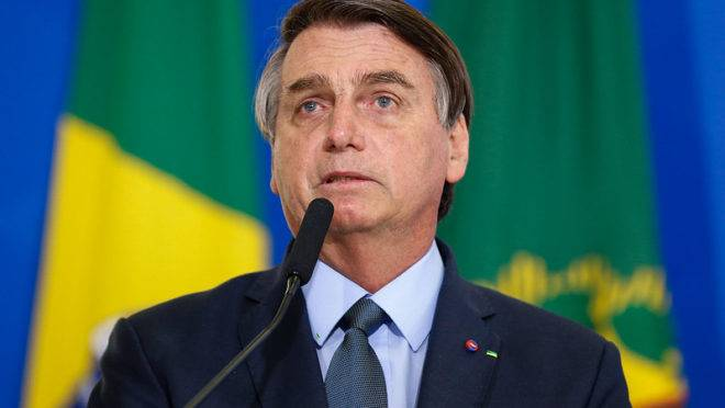 Presidente da República Jair Bolsonaro.