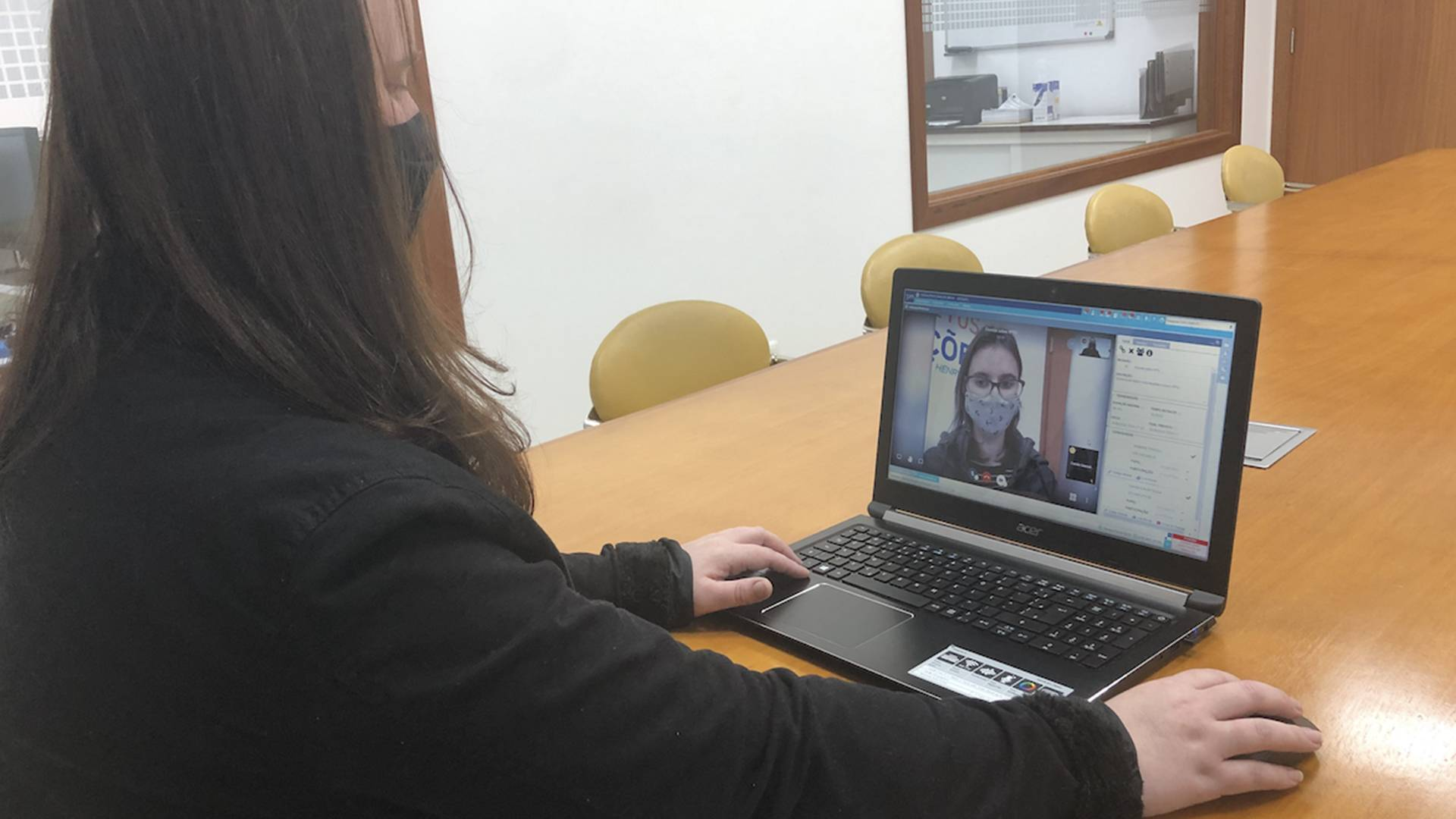 Para aprimorar os atendimentos online, a IPM desenvolveu o videoatendimento, disponível na plataforma de gestão.