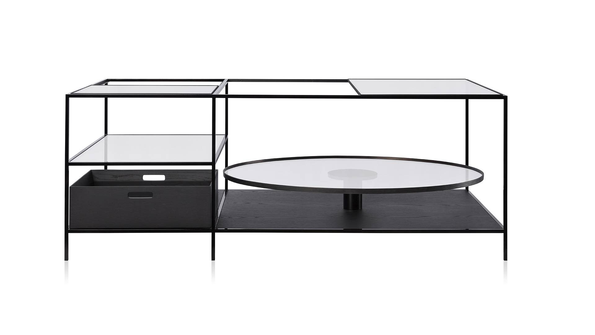 Mesa de centro Teca Bar. Design de Jader Almeida