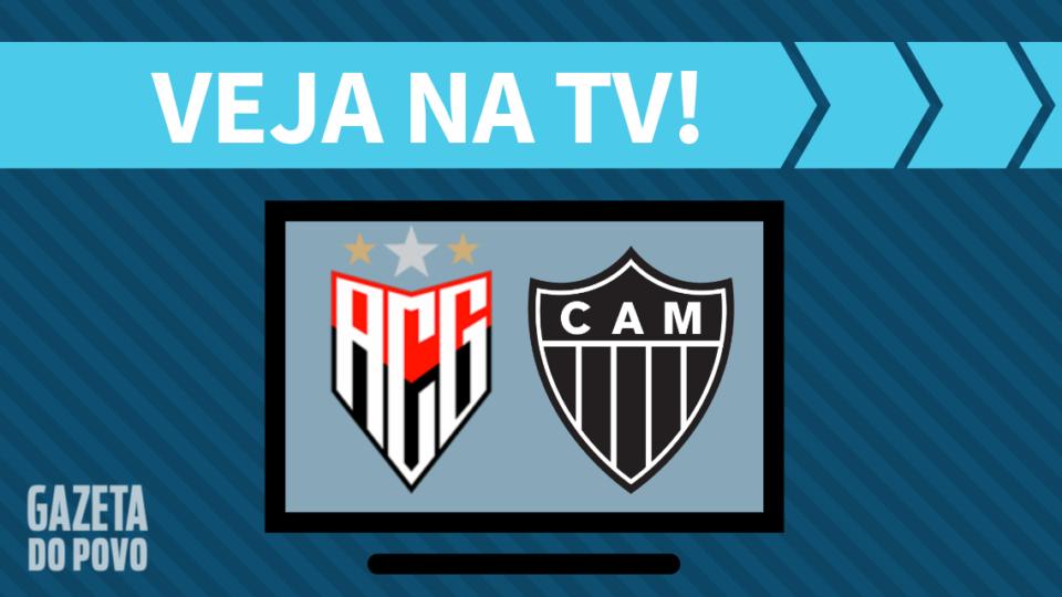 Atlético-GO x Atlético-MG AO VIVO: saiba como assistir ao jogo na TV