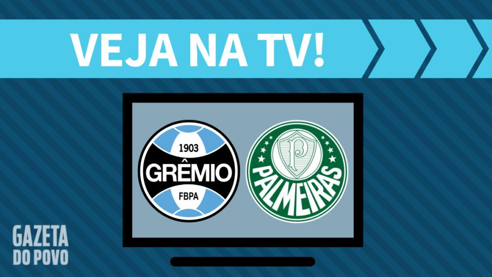 Grêmio x Palmeiras AO VIVO: saiba como assistir ao jogo na TV