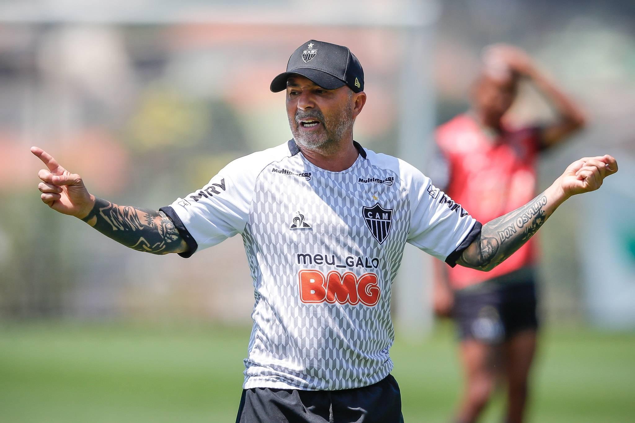 Técnico Jorge Sampaoli, técnico do Atlético-MG