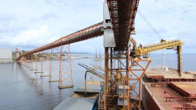Porto de Santarém: capacidade ampliada de 5 para 8 milhões de toneladas