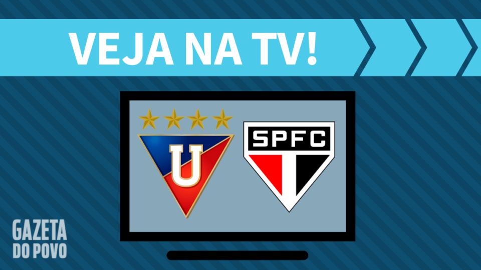 LDU x São Paulo AO VIVO: saiba como assistir ao jogo na TV