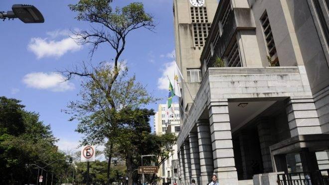 Sede da prefeitura de Belo Horizonte.