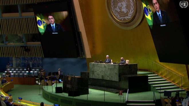 Bolsonaro na ONU: o que o presidente disse na Assembleia Geral das Nações Unidas em 2020