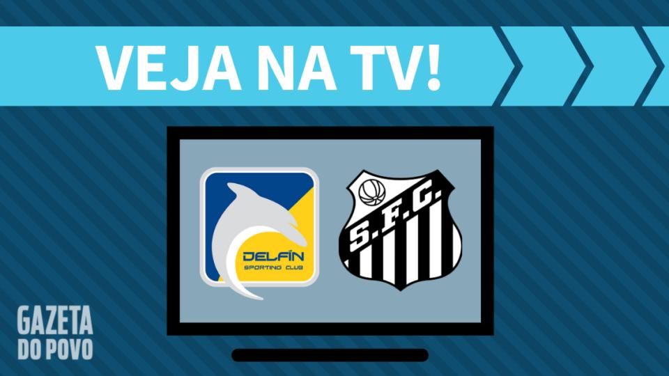 Delfín x Santos AO VIVO: saiba como assistir ao jogo na TV