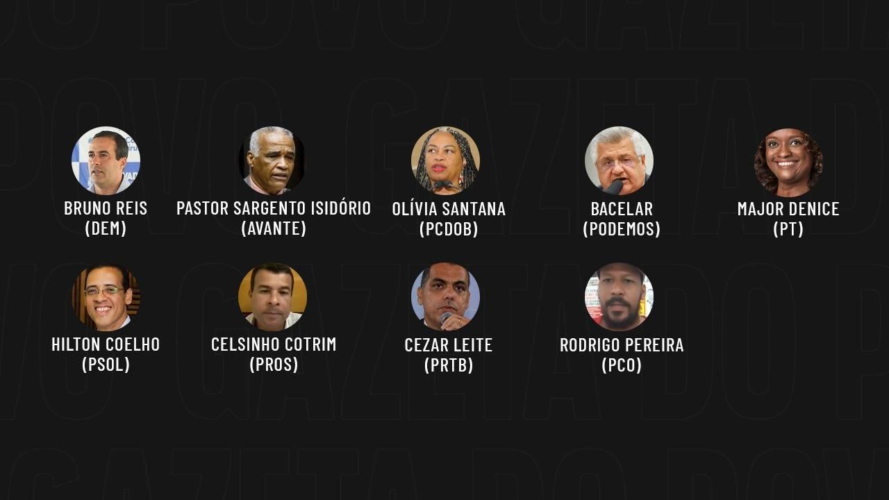 Eleições 2020: candidatos de Salvador