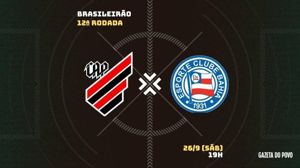 Embalado, Athletico recebe o Bahia na Arena. Tudo sobre o jogo!