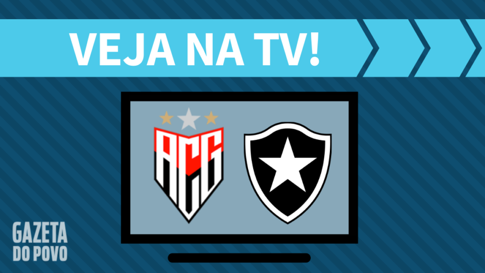 Atlético-GO x Botafogo AO VIVO: saiba como assistir ao jogo na TV