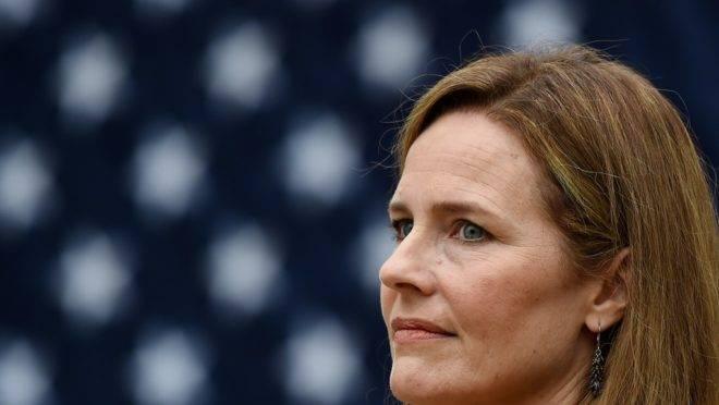 A juíza Amy Coney Barrett foi indicada para a Suprema Corte dos Estados Unidos pelo presidente Donald Trump.
