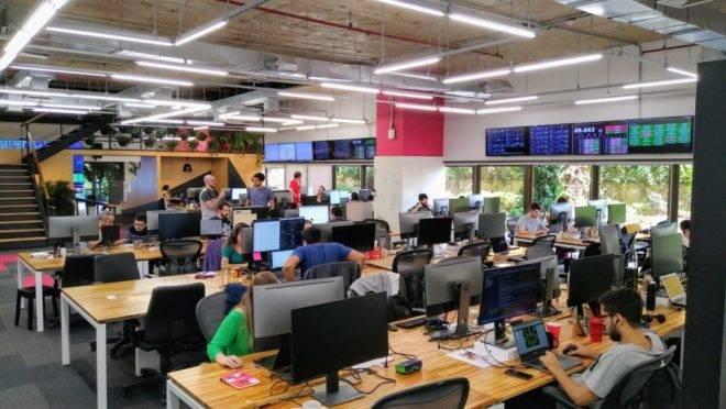 escritório da startup vtex mais novo unicórnio brasileiro com foco em ecommerce