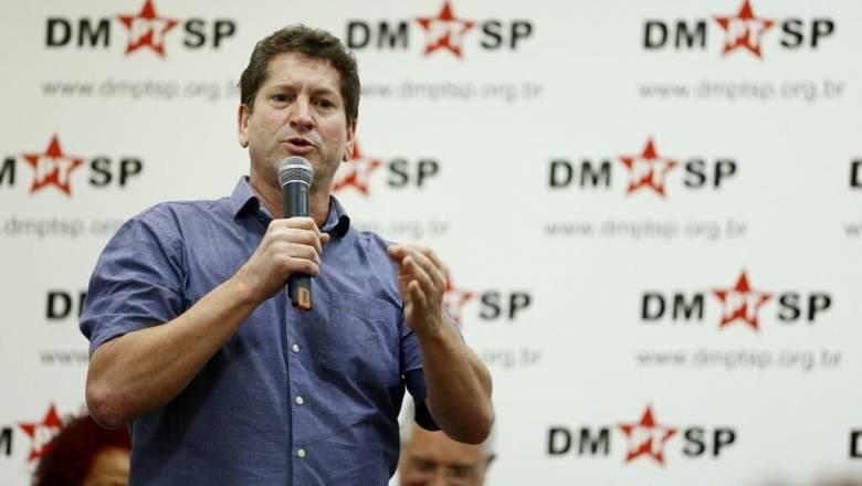 """Jilmar Tatto, candidato do PT em São Paulo: no momento, partido é """"figurante"""" na cidade"""