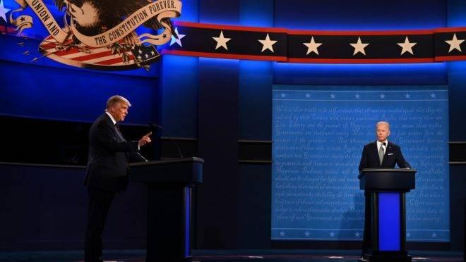 Primeiro debate das eleições presidenciais de 2020 nos EUA ocorreu no dia 29 de setembro, em Ohio.