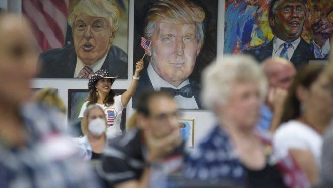 Eleitores de Donald Trump se reuniram no Texas para assistir ao debate do dia 29 de setembro