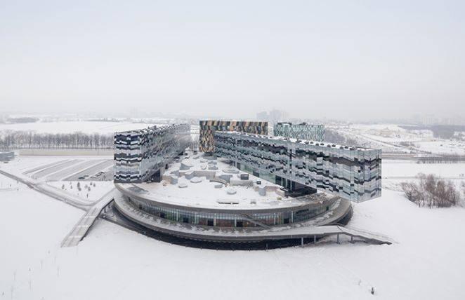 Escola de Administração de Moscou. Foto: Iwan Baan/RIBA/Reprodução